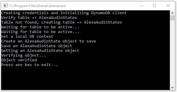 Tutorial: DynamoDB with C# in  NET Core | Matthias Shapiro